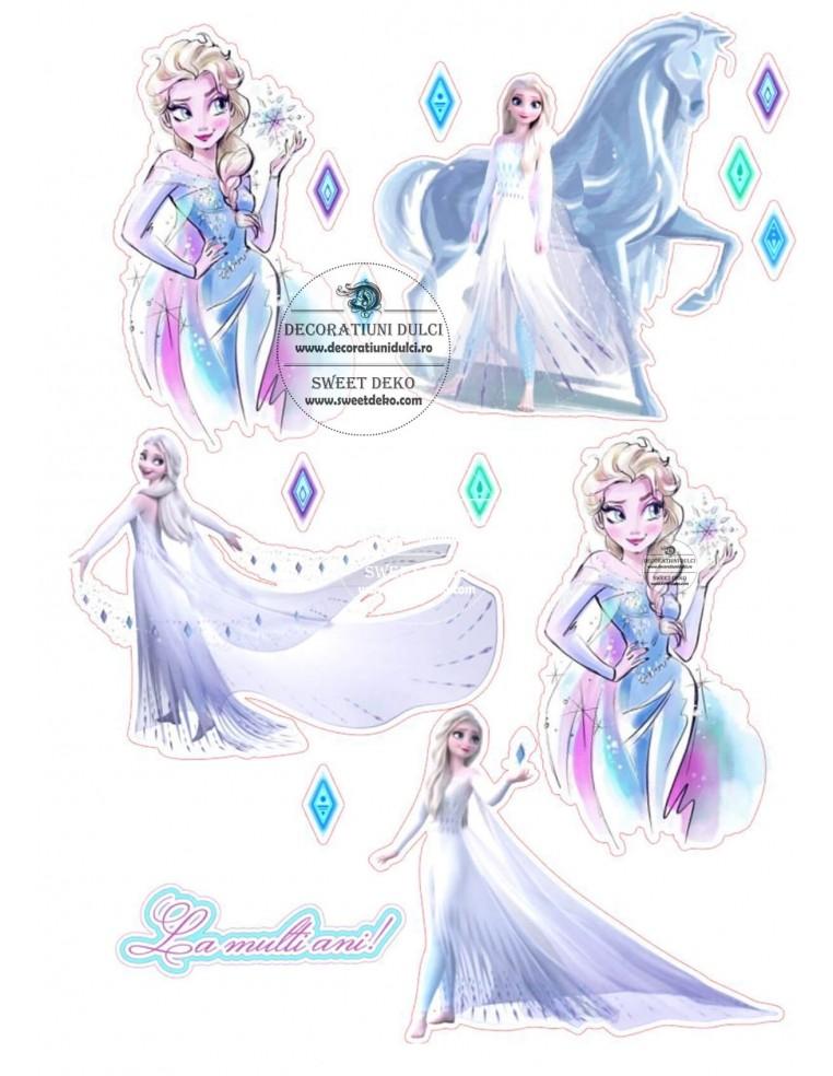Imagine comestibila Elsa Frozen II