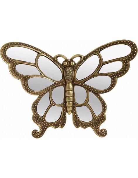 Fluture decor auriu cu...