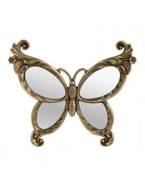 Decor perete fluture auriu...
