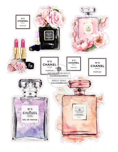 Imagine comestibila Parfum si flori