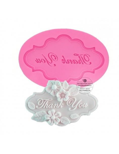 Mulaj eticheta Thank You