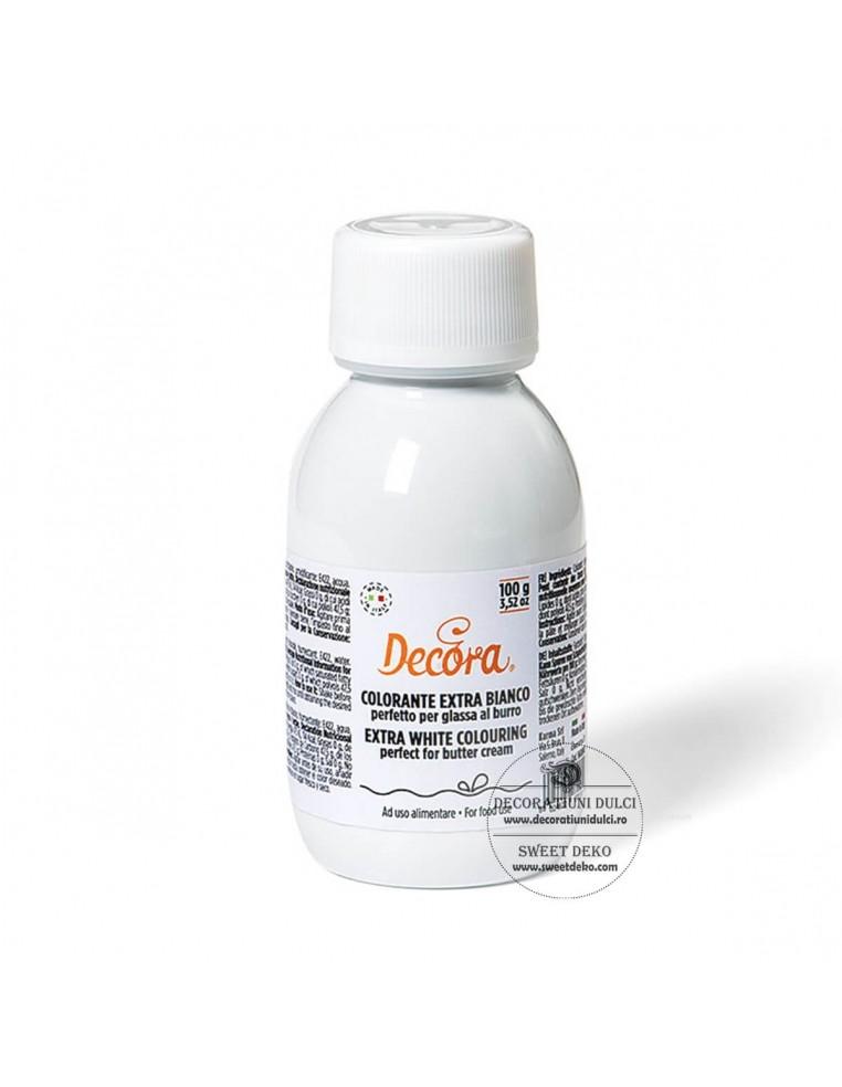 Colorant gel Extra - Alb, Decora (100...