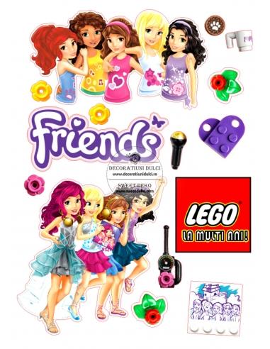 Imagine comestibila Elemente Lego...
