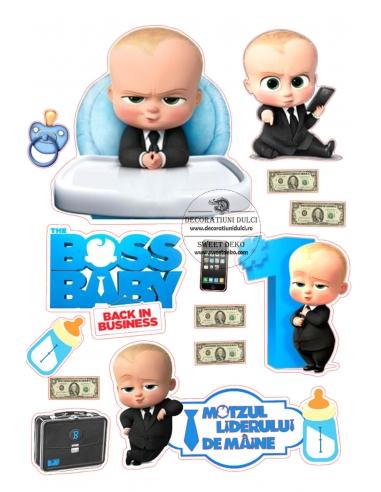 Imagine comestibila Micul Sef Baby Boss