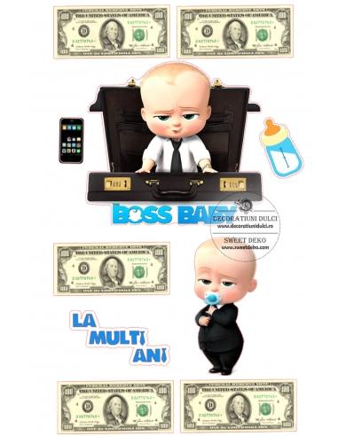 Imagine comestibila Boss Baby si...