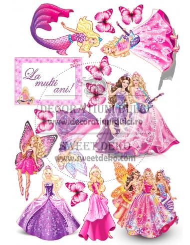 Imagine comestibila Barbie Princess
