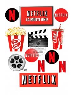 Imagine comestibila Netflix...