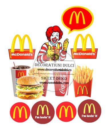 McDonald's - Imagine comestibila