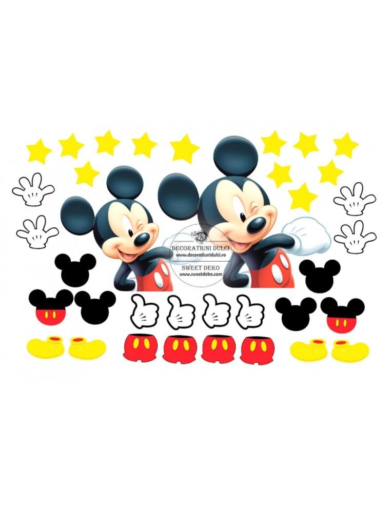 Imagine comestibila Happy Mickey