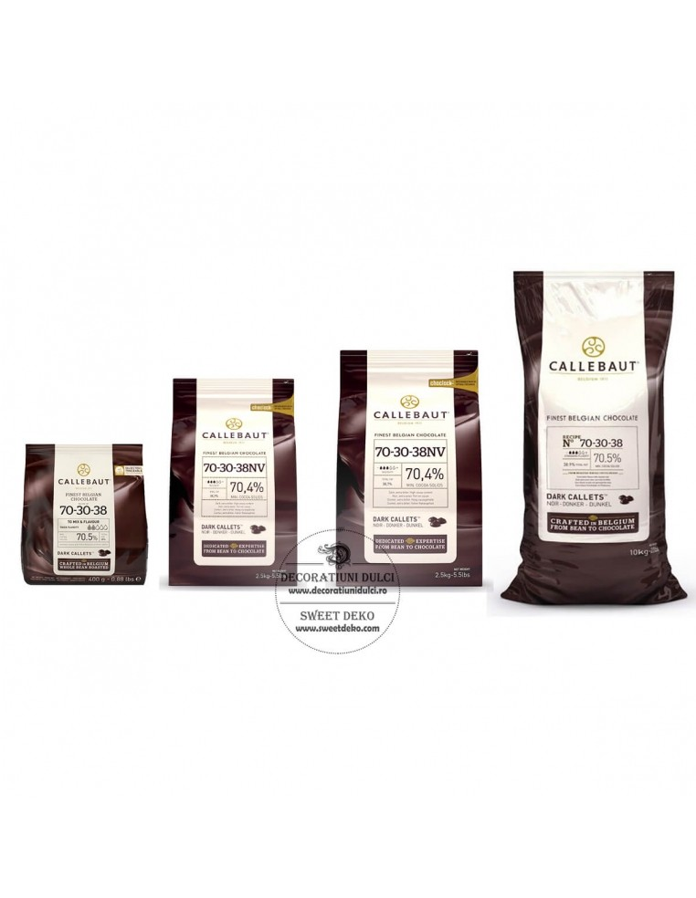 Barry Callebaut - Ciocolata neagra -...