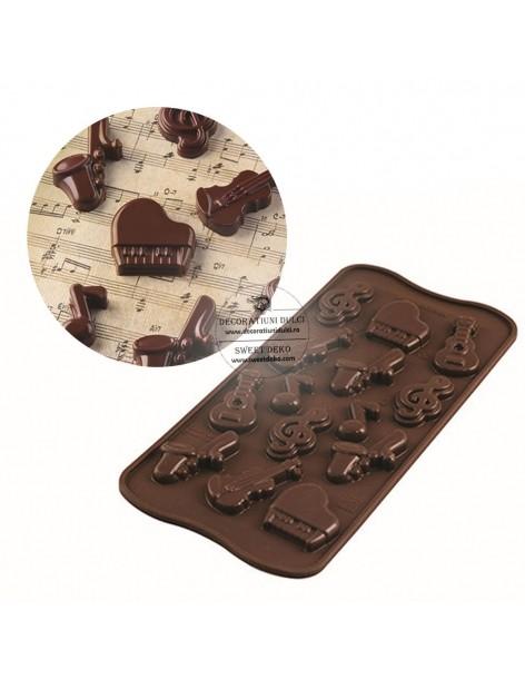 Mulaj ciocolata forme...