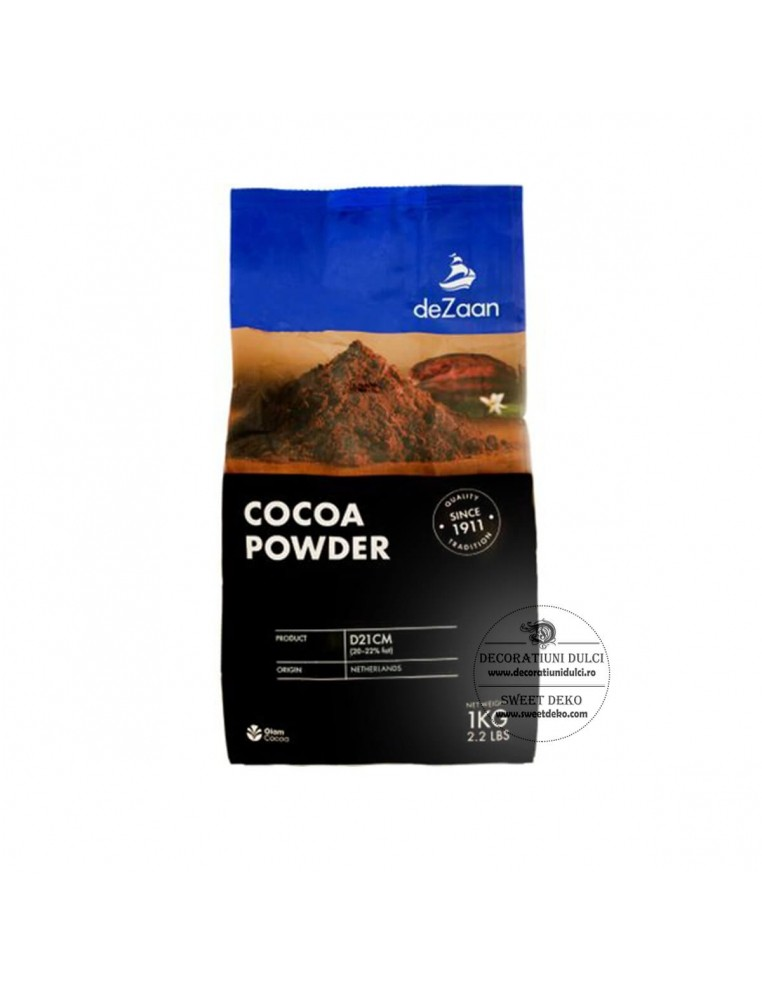 Cacao pudra DeZaan - 1kg