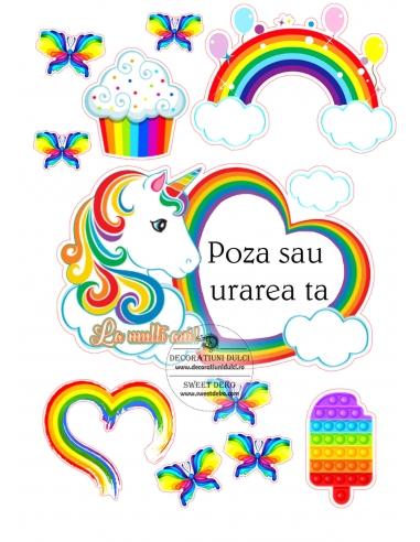 Imagine comestibila, Rama Rainbow...