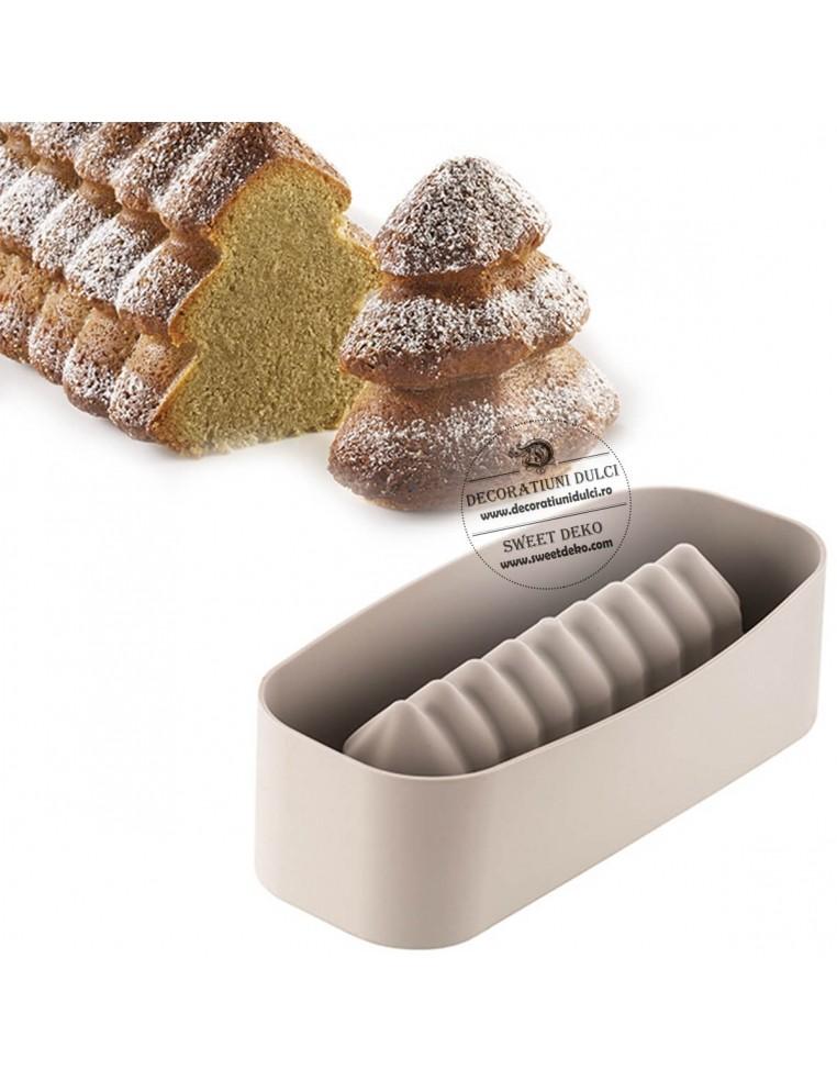 Mulaj tort forma bradut, BUCHE Sapin