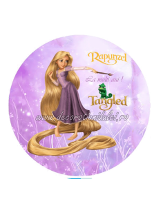 Imagine comestibila Rapunzel