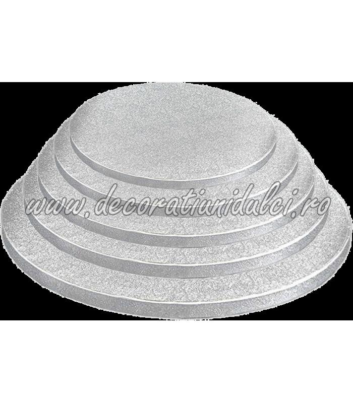Platou tort rotund (drum)