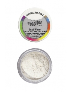 Dust perlat alb - Rainbow Dust