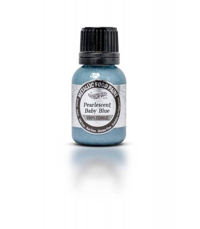 Colorant metalic  albastru bebelus