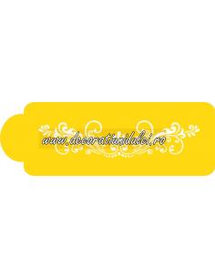 Sablon decor tort Fleur de Lis