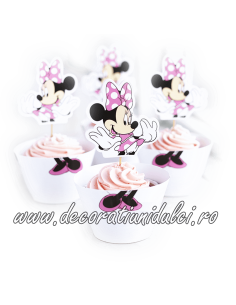 Invelitori si toppers Minnie Mouse