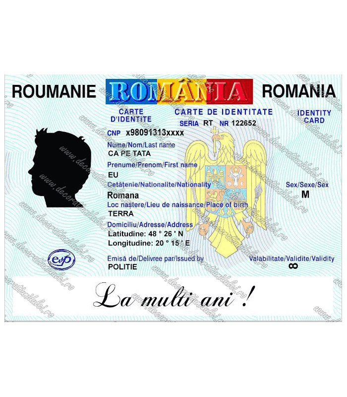 Imagine comestibila carte de identitate - 2