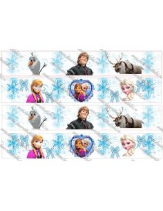 Banda comestibila Frozen