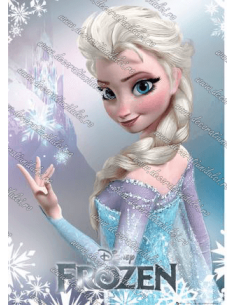 Imagine comestibila Elsa - 2