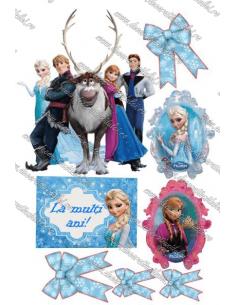 Imagine cometibila Frozen - 8