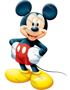 "Imagine comestibila ""Mickey Mouse"""