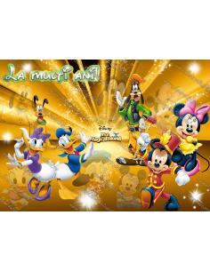 Imagine comestibila Mickey si prietenii - 1
