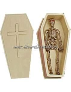 Mulaj schelet si sicriu Hallowen