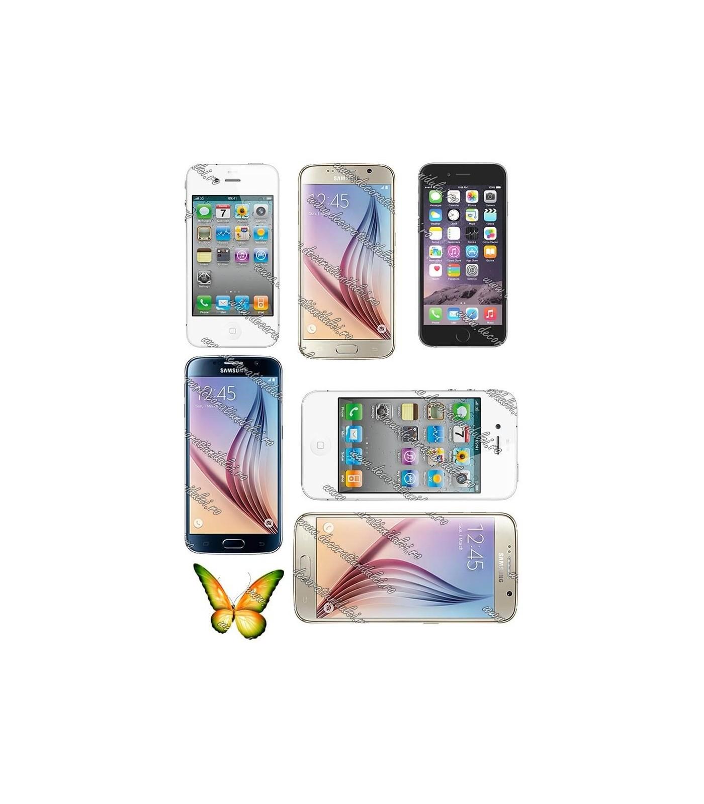 Imagine comestibila Iphone