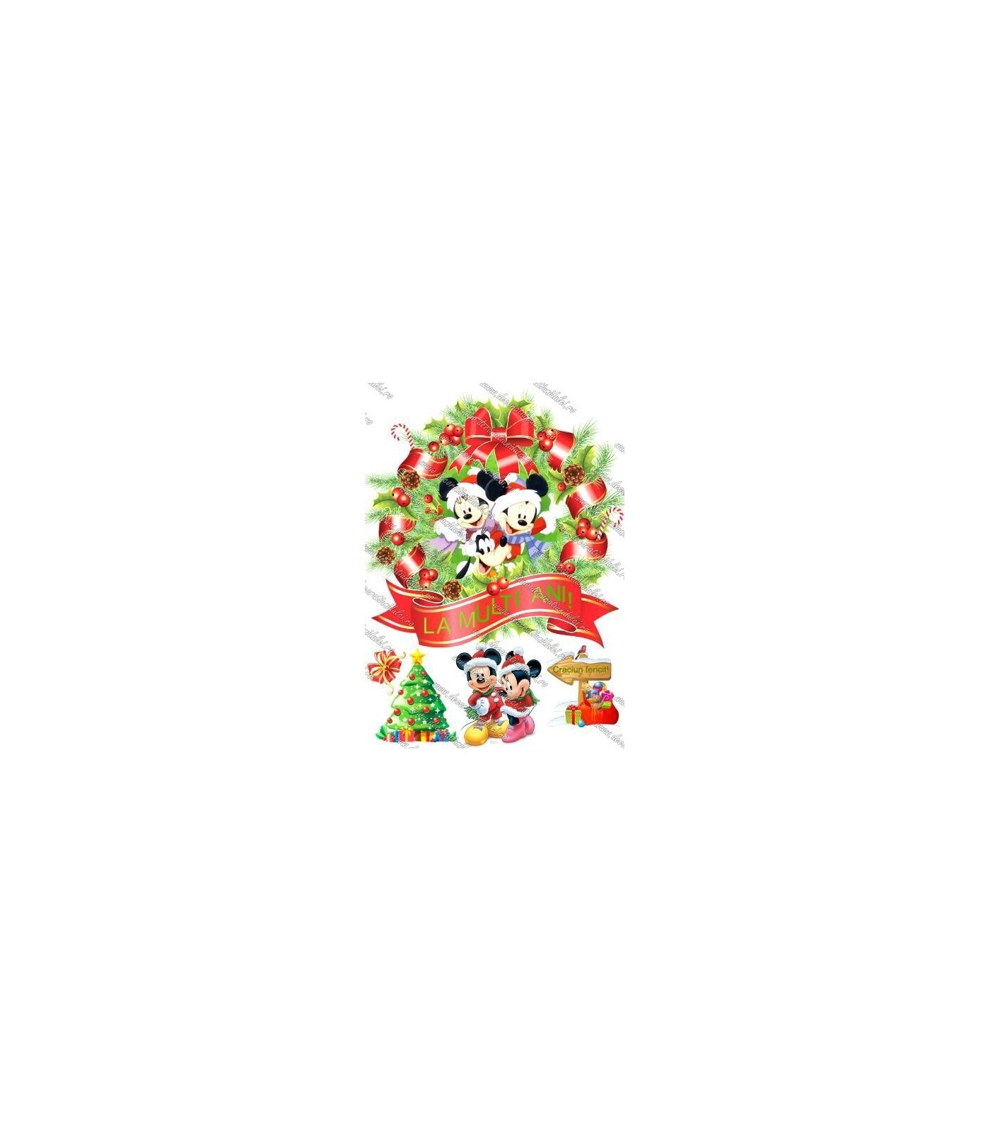 Minnie si Mickey de Craciun