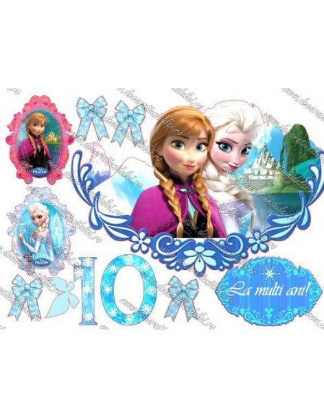 Imagine comestibila Frozen - 11