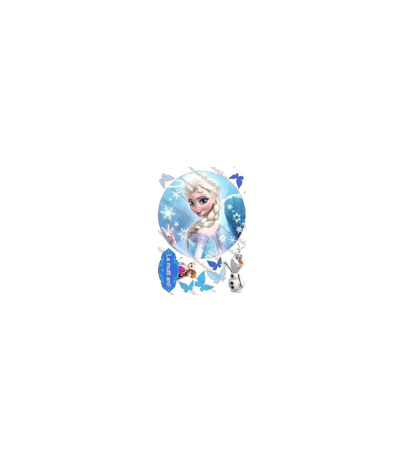 Imagine comestibila Elsa - 4