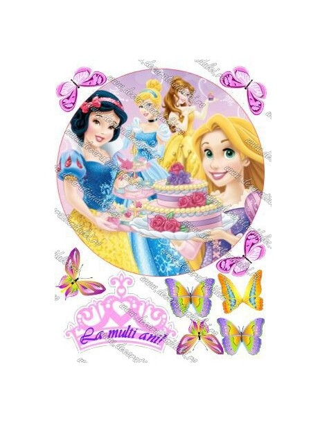 Imagine comestibila printesele Disney - 1