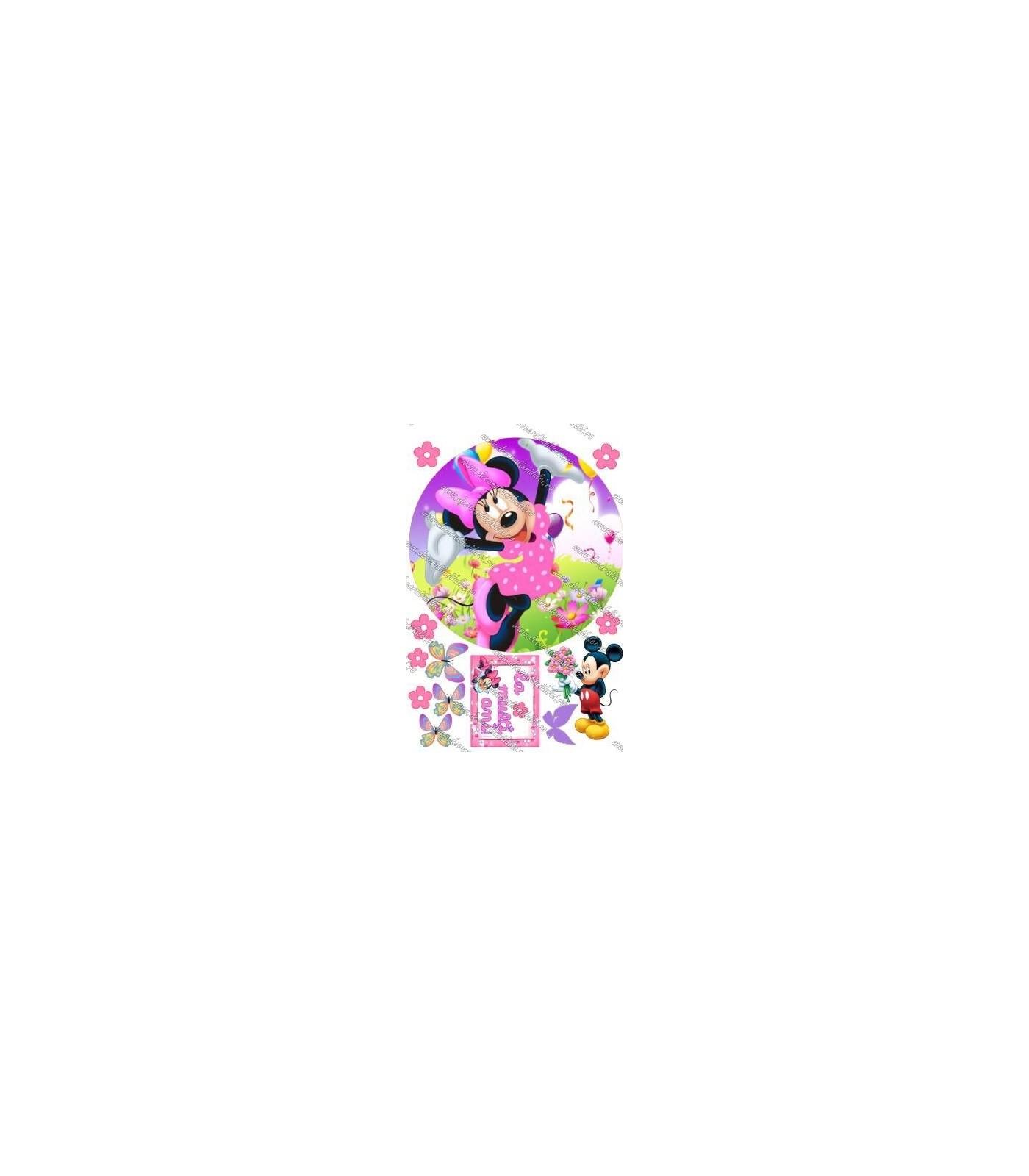 Imagine comestibila Minnie - 1