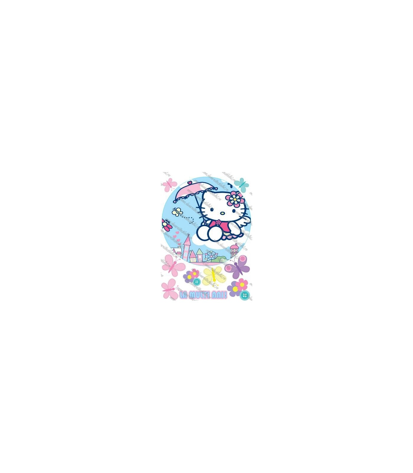 Imagine comestibila Hello Kitty - 1