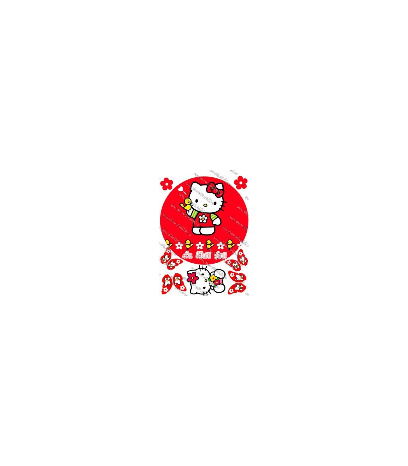 Imagine comestibila Hello Kitty - 2