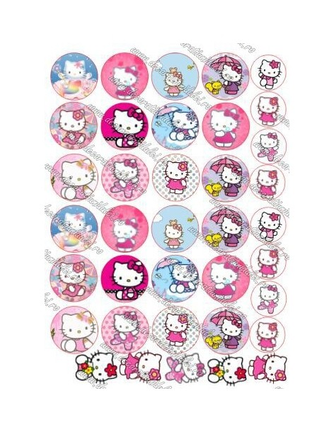 Cerculete cu Hello Kitty