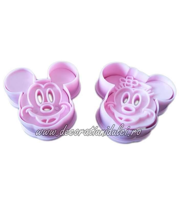 Decupatoare Minnie si Mickey