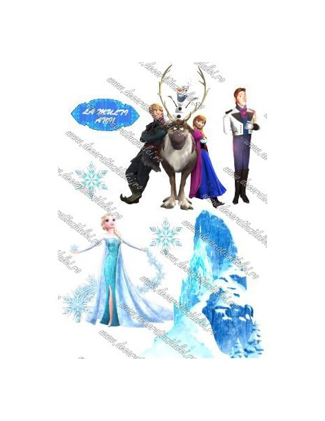 Imagine comestibila Frozen - 12