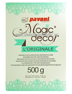 Pudra dantela alba, Magic Decor 500 gr.
