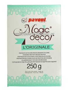 Pudra dantela alba, Magic Decor 250 gr.
