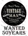 Imagine comestibila Vintage Man