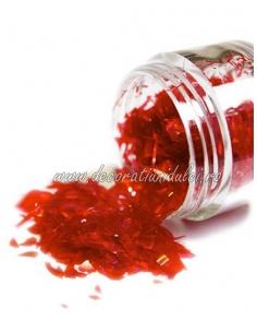 Sclipici comestibil rosu - Rainbow Dust