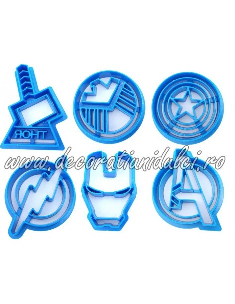 Decupatoare simboluri supereroi