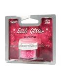 Glitter comestibil - Pastel Pink