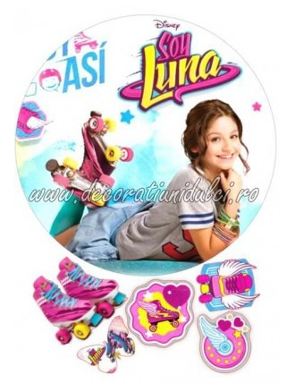 Imagine comestibila Soy Luna - 1