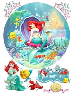 Imagine comestibila Ariel - 1